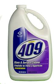 FORMULA 409 GLASS & SURFACE CLEANER 1 GALLON BOTTLES (4