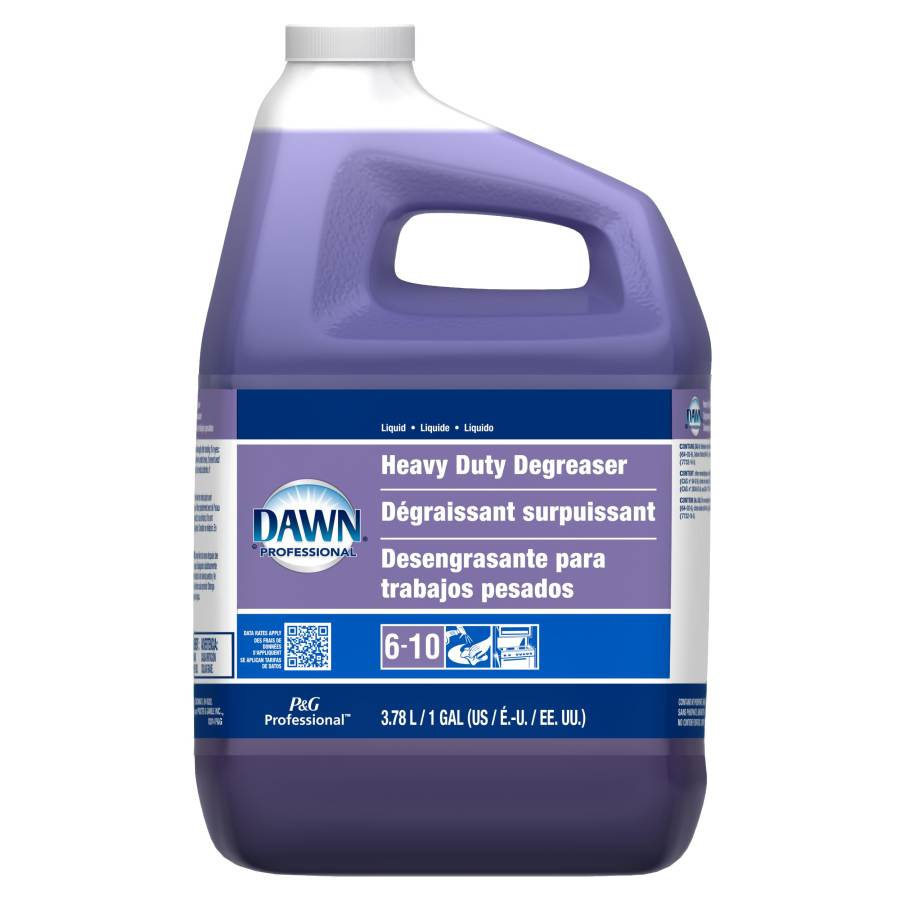 DAWN HEAVY DUTY LIQUID DEGREASER 3 GALLONS PER CASE