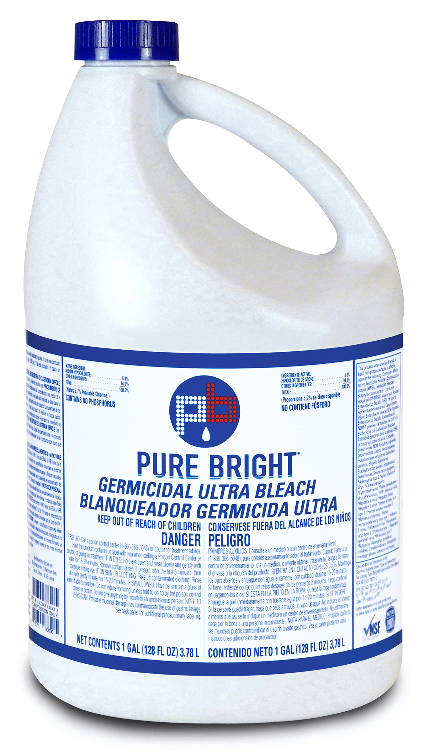 BLEACH 1 GALLON (6 GALLONS PER CASE) CH120