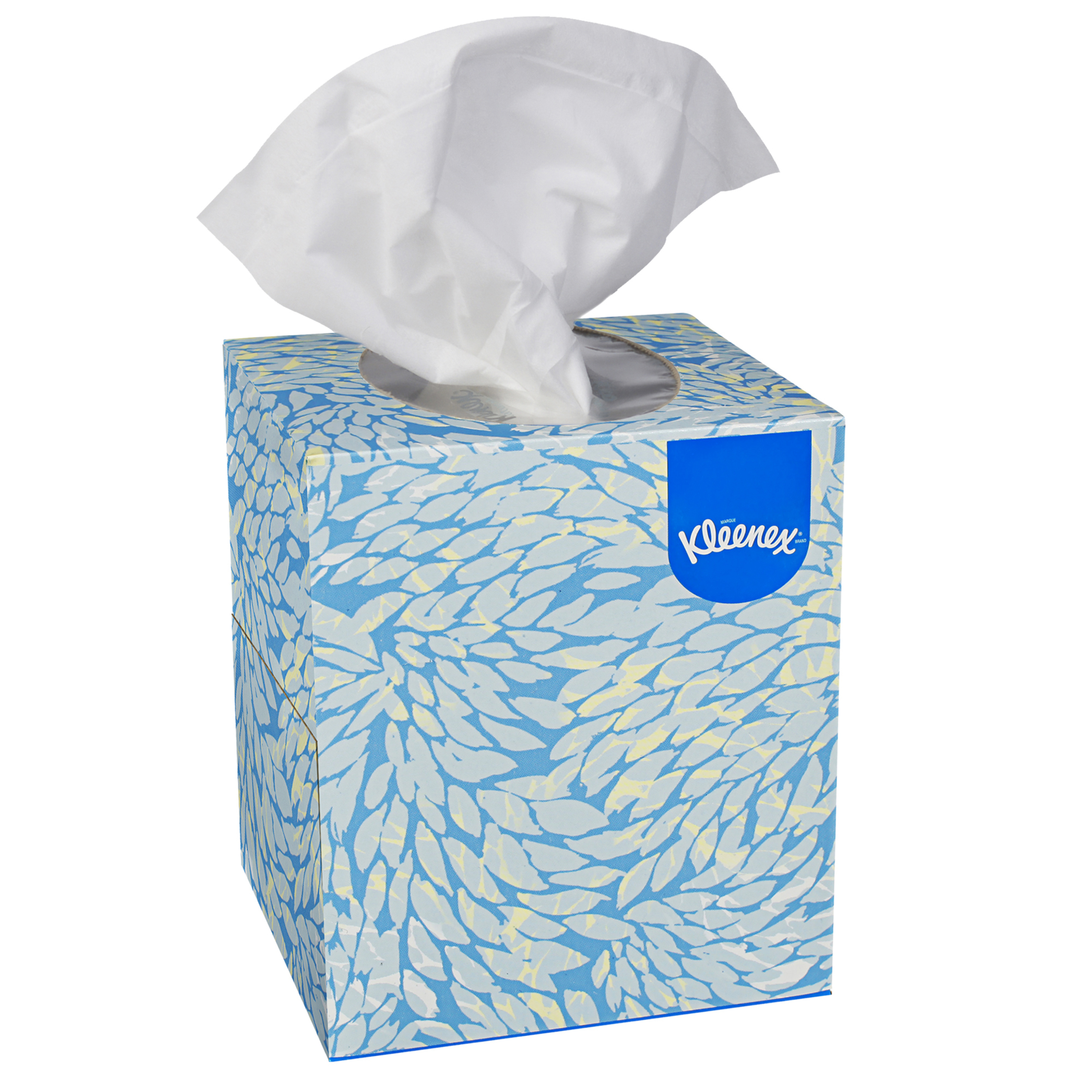 FACIAL TISSUE KLEENEX CUBE BOX 36 BOXES OF 100
