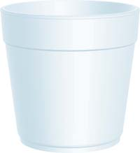 CONTAINER FOOD 32 OZ FOAM SQUAT 500 PER CASE