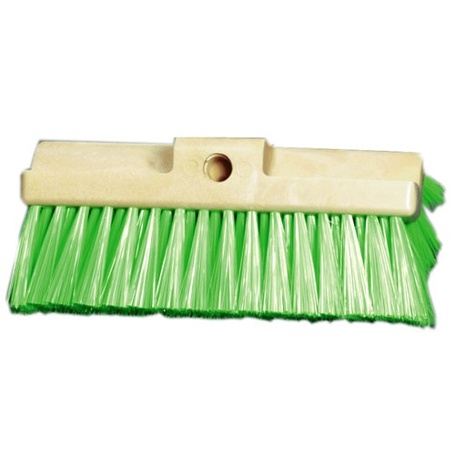 "BRUSH 10"" NYLON MULTI-SURFACED TRUCK WASH GREEN"