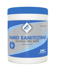 WIPES HAND SANITIZING 240 COUNT CANISTER 12 CANISTER