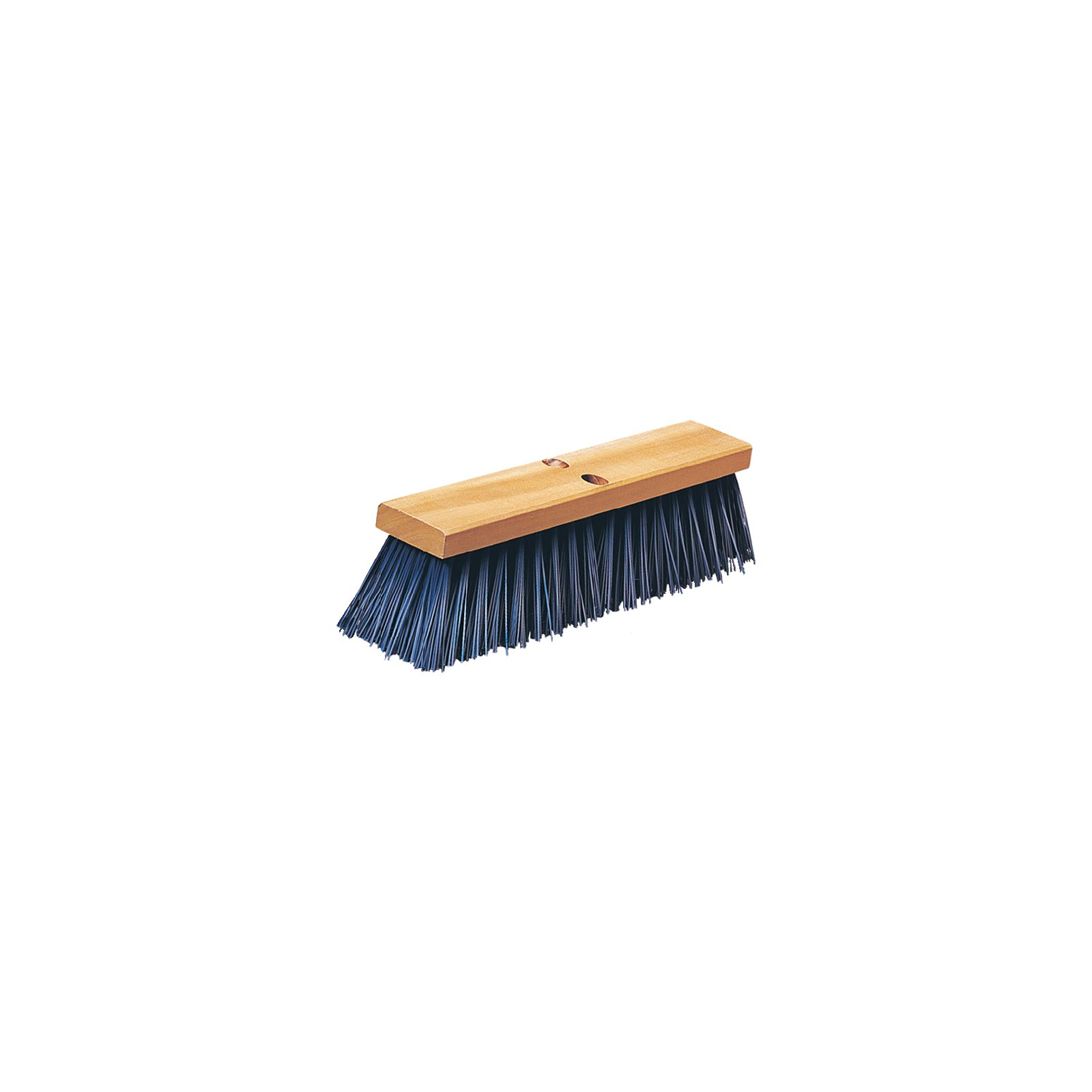 "BROOM 24"" HEAVY STREET SWEEP HARDWOOD BLOCK POLYPROPYLENE -"