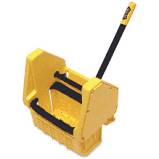 MOP BUCKET WRINGER DOWN LARGE YELLOW