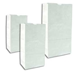 BAG PAPER 4# WHITE 500 PER PACK (81250)