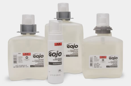 HAND SOAP FMX GOJO FOAMING   E2 FOAMING SANITIZING 2000 ML