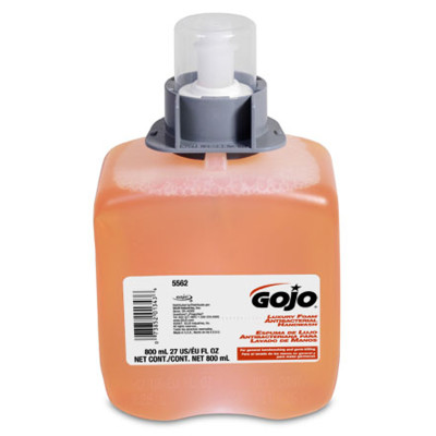 HAND SOAP FMX GOJO FOAMING LUXERY 800 ML 3 PER CASE