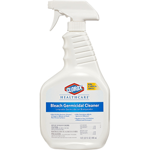 CLOROX HEALTHCARE BLEACH GERMICIDAL CLEANER W/ TRIGGER