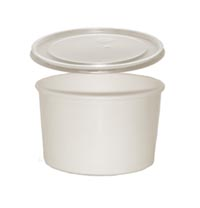 CONTAINER FOOD AND LID COMBO 16 OZ 250 PER CASE