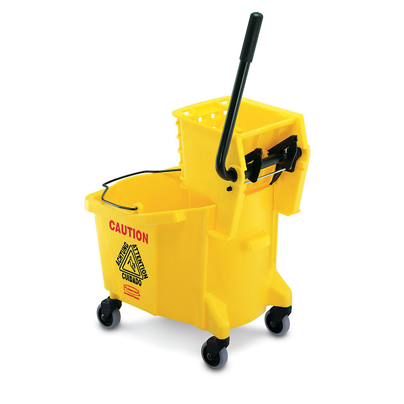 MOP BUCKET WAVE BRAKER SIDE PRESS COMBO 26 QUART