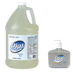 HAND SOAP DIAL ANTIMICROBIAL FOR SENSITIVE SKIN 1 GALLON (