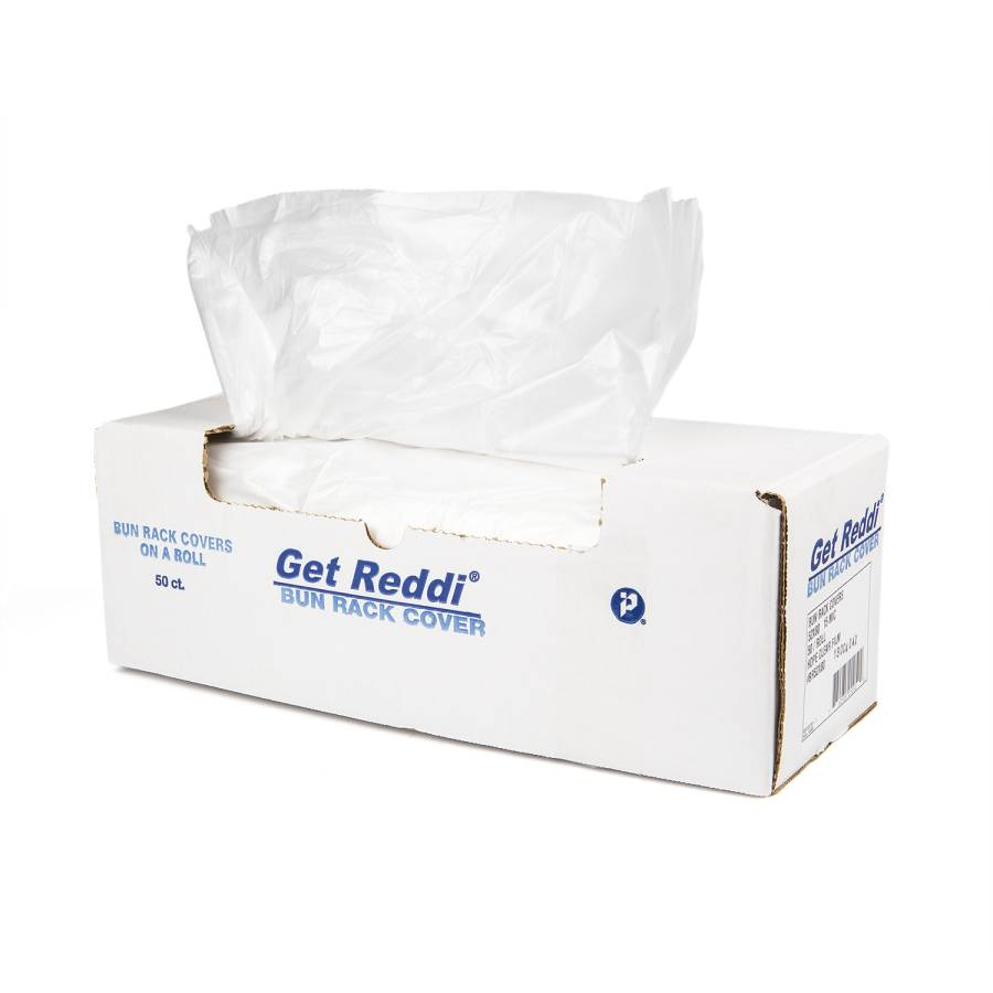 BAG POLY BUN PAN COVER BAG 21 X 6 X 35 200 PER BOX