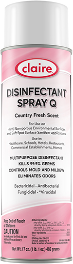 DISINFECTANT SPRAY COUNTRY FRESH 17