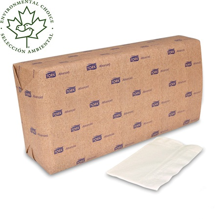 NAPKINS DISPENSER 1 PLY 13 X 13 (3.5 X 6.5 FOLDED) WHITE