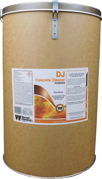 DJ CONCRETE CLEANER - 50 #