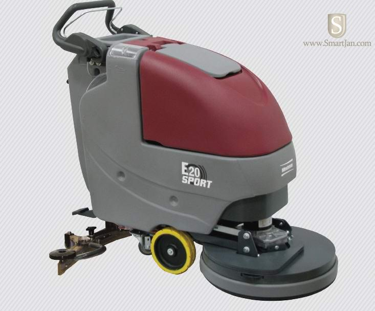 "SCRUBBER E20 SPORT 20"" WALK-BEHIND DISC TRANCTION"
