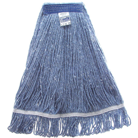WET MOP 32 OZ BLUE WIDE BANDS (12 PER