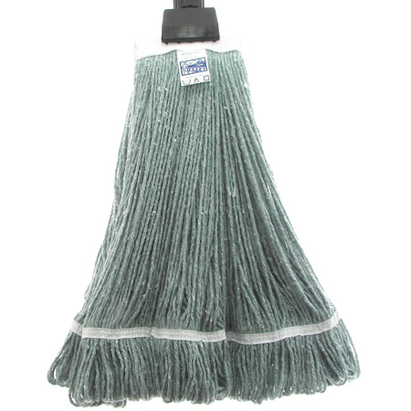 WET MOP 32 OZ GREEN WIDE BAND (12 PER