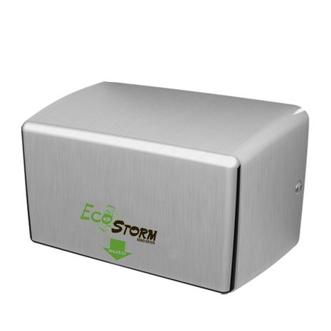HAND DRYER ECOSTORM HANDSFREE HIGH SPEED DRYER BRUSHED