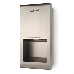 HAND DRYER BLUESTORM 110 / 120 V BRUSHED STAINLESS 9 3/4