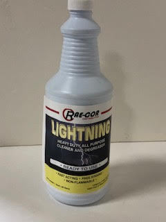 LIGHTNING CLEANER AND DEGREASER (12 QUART CASE)