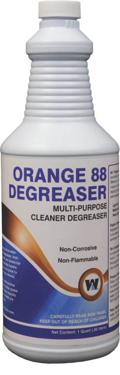 ORANGE 88 - CITRUS BASED DEGREASER CONCENTRATE (12
