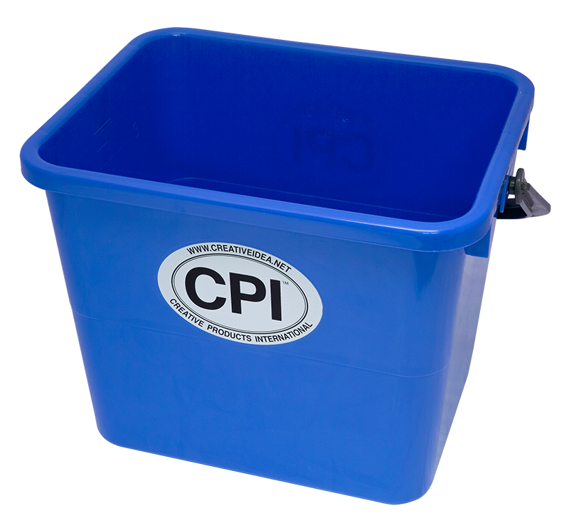 BUCKET WITH SEALED LID 3.5 GALLON GRADUATION MARKS IN
