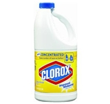 BLEACH-CLOROX LEMON SCENT 64 OZ BOTTLE (8 BOTTLES PER