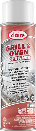 GRILL AND OVEN CLEANER 20 OZ CAN (12 CANS PER CASE)