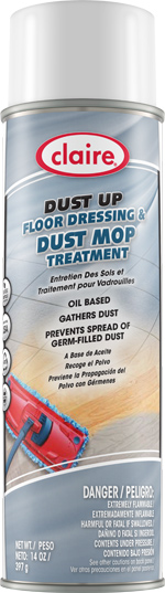 DUST UP OIL BASED DUST MOP TREATMENT 14 OZ CAN (12 CANS