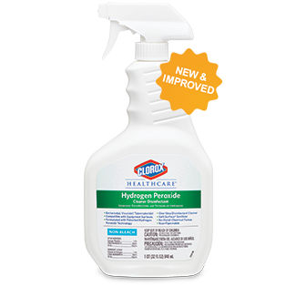 CLOROX HEALTHCARE DISINFECTANT CLEANER WITH HYDROGEN PEROXIDE
