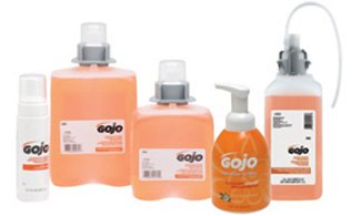 HAND SOAP GOJO ANTIBACTERIAL LUXURY FOAM W/PUMP BOTTLE 4