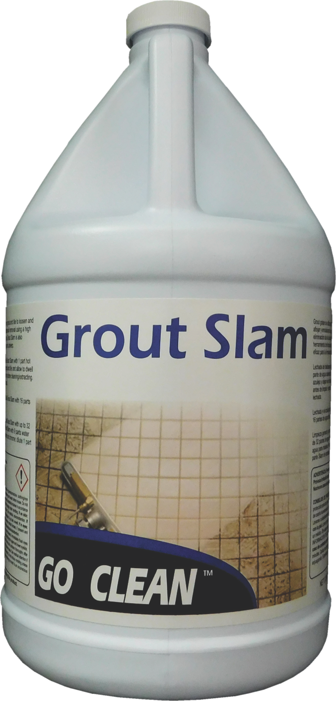 GO CLEAN GROUT SLAM (4 GALLON CASE)