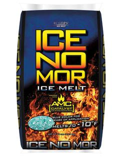 ICE MELT ICE-NO MOR 20# BAG ( 120 BAGS ON SKID)