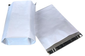 "MAILERS POLY EXPANDABLE 26"" X 28"" - 5"" 100 PER CASE"