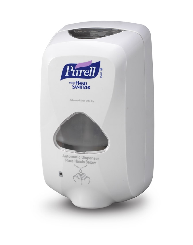 DISPENSER GOJO PURELL TOUCH FREE 1200 ML DOVE GREY FITD
