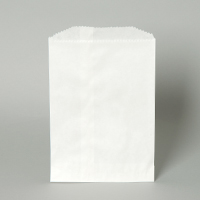 BAG PAPER 20# WHITE GROCERY 500 PER PACK  (80969)
