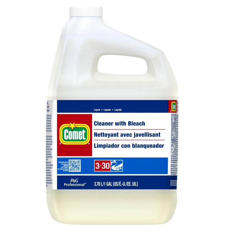 COMET CLEANER WITH BLEACH 1 GALLON (3 PER CASE)