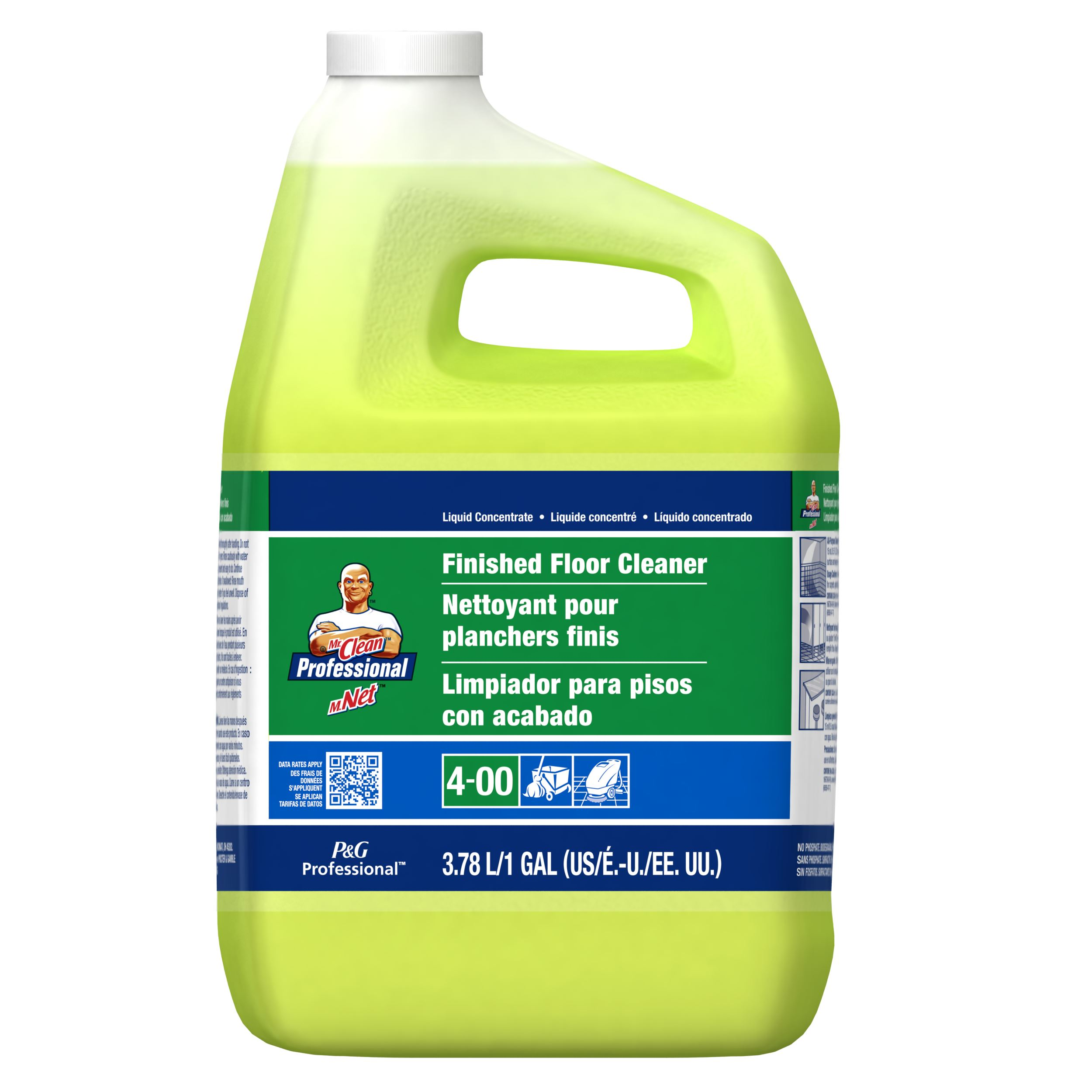 MR. CLEAN FINISHED FLOOR CLEANER 1 GALLON CONCENTRATE