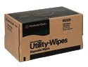 WYPALL L10 UTILITY WIPES IN POP UP BOX WHITE 18 PACKS OF