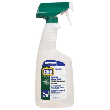 COMET LIQUID DISINFECTANT BATHROOM CLEANER 32 OZ BOTTLES