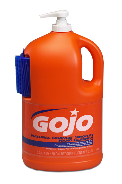 HAND SOAP GOJO E4 NATURAL ORANGE SMOOTH HAND CLEANER 1