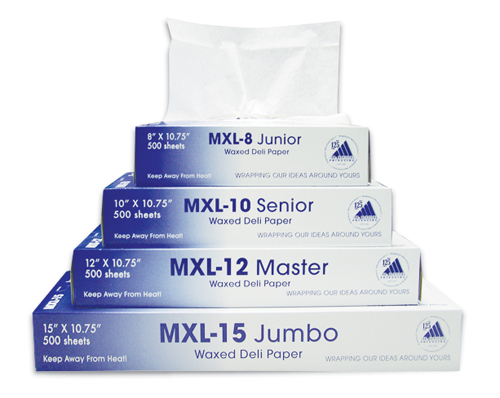 "DELI PAPER INTERFOLD 10"" X 10.75"" 12 BOXES OF 500 PER"