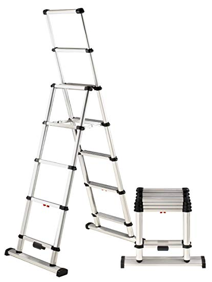 LADDER TELESCOPIC COMBI EXTENSION  - MAX REACH 6 FEET