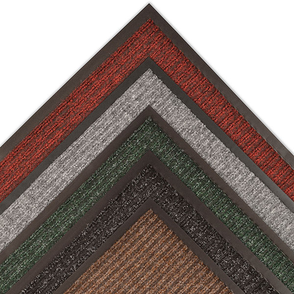 MAT 117 HERITAGE RIB 2' X 3' BROWN