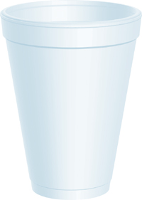 CUPS 12 OZ FOAM DART 1000 PER CASE