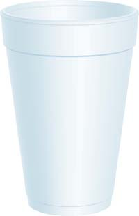 CUPS 16 OZ FOAM DART 1000 PER CASE