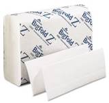C-FOLD BIG FOLD Z 10.2 X 10.8 1 PLY WHITE 220 10 PACKS OF