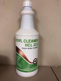TOILET BOWL CLEANER HCL 23.9 HYDROCHLORIC ACID (12 QUART